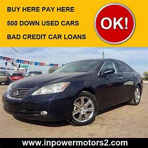 Buy Here Pay Here $500 Down Cars Phoenix & Glendale In Power