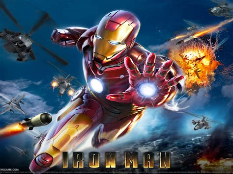marvel iron man pc video game desktop hd wallpaper  pc