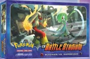 pokemon usa ex battle stadium set box