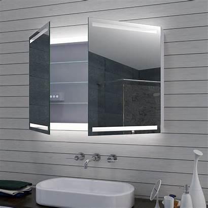 Badezimmer Spiegel Spiegelschrank Bad Led Kalt Warm