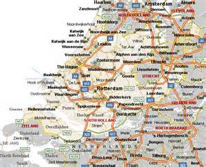 Holland Map Netherlands