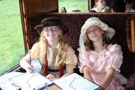 Finishing school young ladies