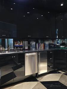 black lacquer cabinets contemporary kitchen miles redd With what kind of paint to use on kitchen cabinets for black lacquer wall art