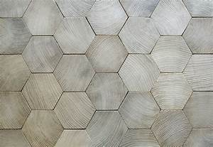 wood cut in hexagonal form parquets de tradition 111 With tomette parquet