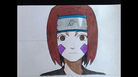 How To Draw Rin Nohara (naruto)