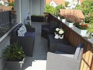 terrasse balkon 39unser riesenbalkon39 mein wohn With französischer balkon mit sonnenschirm mit werbung kostenlos