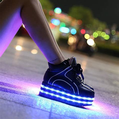 led light up shoes in stores image gallery led shoes