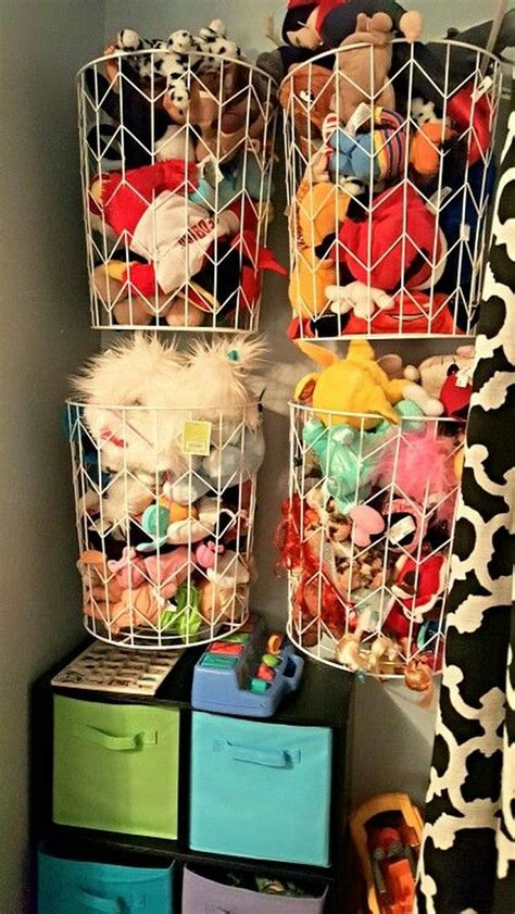 diy inspiring diy toy storage ideas   kids room