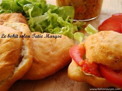 spécialité cuisine recette du bokit la spécialité guadeloupéenne selon tatie maryse cuisine créole