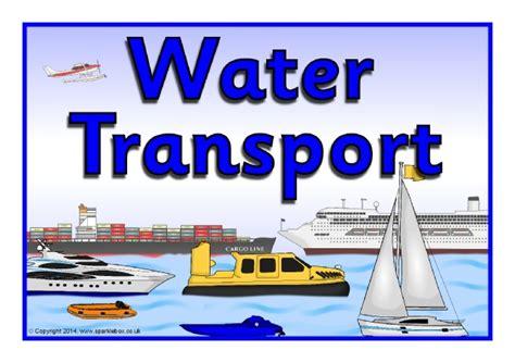 Water Transport Display Poster (sb10772)