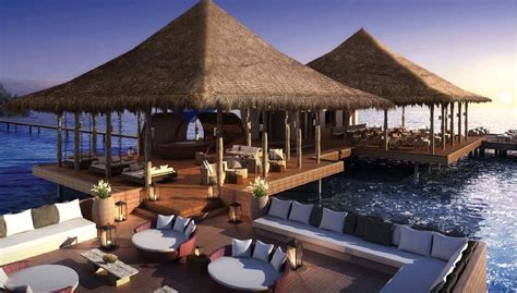 great resorts  overwater bungalows