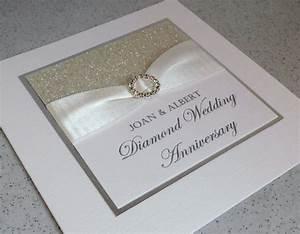 paper daisy cards diamond wedding anniversary invitations With diamond wedding invitation cards uk
