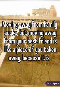 Moving away from family sucks, but moving away from your ...