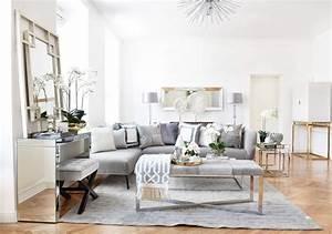 Urban Design Möbel : urban loft livingroom wohnzimmer in silber grau looks ~ Eleganceandgraceweddings.com Haus und Dekorationen