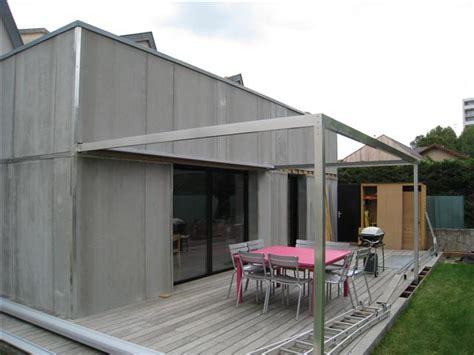 ordinary construire une pergola couverte 5 construire pergola aluminium jpg homesus net