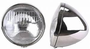 Speedway Motors 1934 Ford Halogen Headlights  Stainless