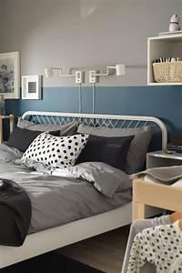 Metallbett Ikea Weiß : nesttun bettgestell wei lur y ikea deutschland in ~ Watch28wear.com Haus und Dekorationen