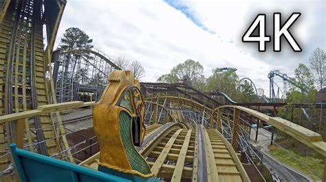 Busch Gardens Williamsburg by Invadr Front Seat On Ride 4k Busch Gardens