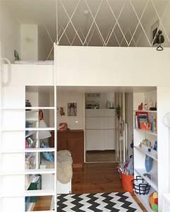 Hochbett Bauen Lassen : die besten 25 hochbett bauen ideen auf pinterest ~ Michelbontemps.com Haus und Dekorationen