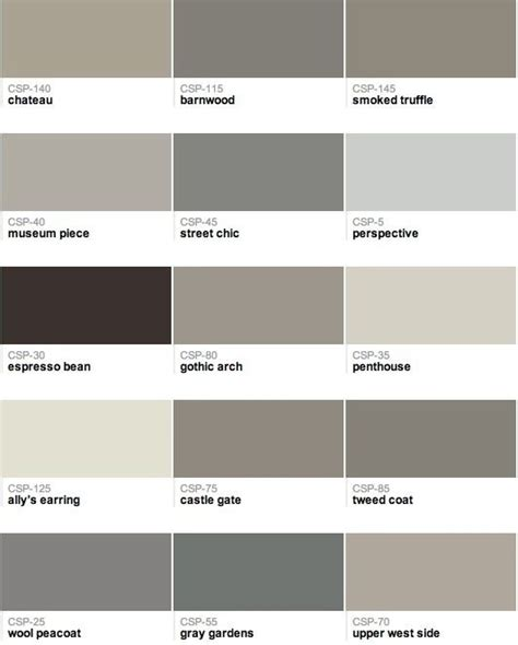 Farbe Grau Braun by 182 Best Images About Grey And Greige Paint Tones On