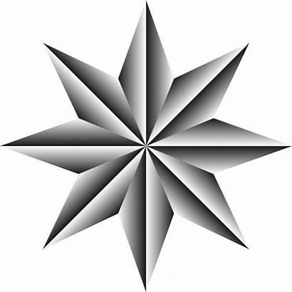 Compass Nautical Drawing Star North Rose Clipartmag