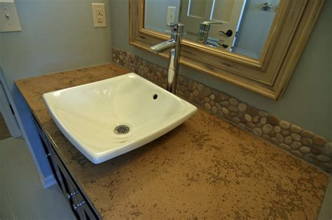 Modern Bathroom Countertop And Sink Pictures