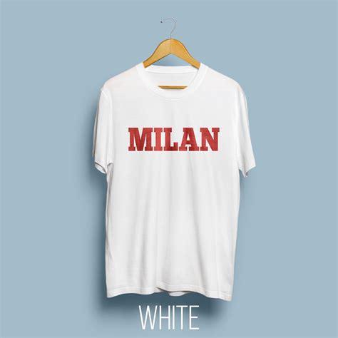 Kaos Milan jual kaos ac milan quot milan quot ver kaos putih di lapak
