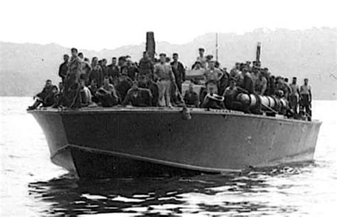 Pt Boat Crew by Pt109 With Crew Of Northhton Pt Boats E Boats