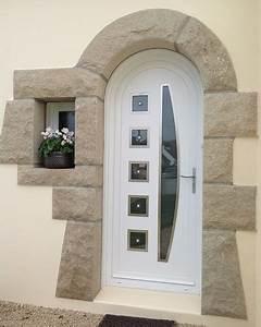 portes d39entree pvc With porte d entrée plein cintre