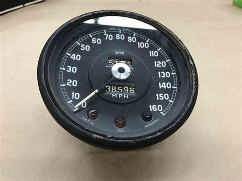 jaguar xke  type smiths speedometer speedo mph gauge sn
