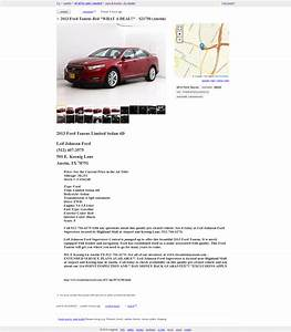 craigslist posting for car dealers auto dealer With craigslist car template