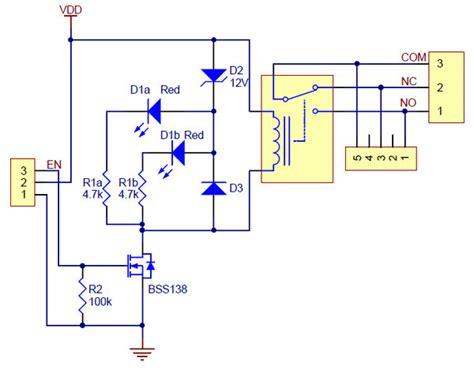 pololu basic spdt relay carrier  vdc relay assembled