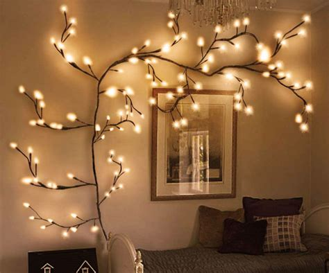 Tree includes 5 frames sized for 4 x 6 photos, 5 frames sized for 5 x 7 photos, and 1 frame for an 8 x 10 photo! LED Light Tree Wall Decor for Bedroom Home Décor Artificial Plants Flowers Tree Willow Vine ...