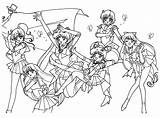 Sailor Moon Coloring Pages Gyarados Printable Pokemon Print Anime Chibi Sheets Lance Coloriage Phases Getcolorings Stars Together Le Mon Friend sketch template