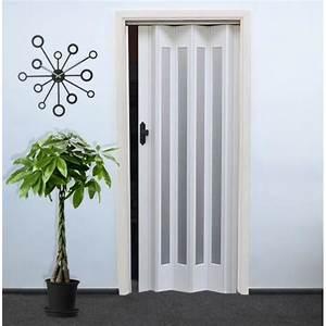 Porte Interieur Discount : porte pliante f hr 011 blanc achat vente porte d ~ Edinachiropracticcenter.com Idées de Décoration