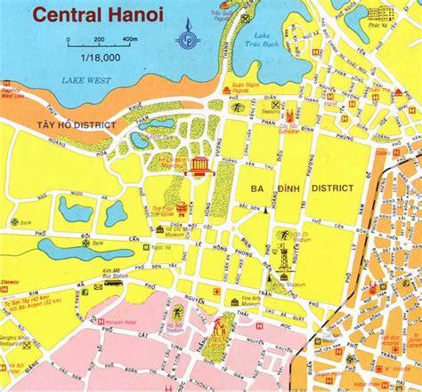 hanoi map vietnam