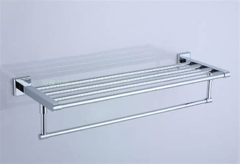 bath shelves with towel bar polished chrome stainless steel bathroom shelf with towel