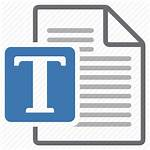 Word Template Document Processing Icon Configuration Icons