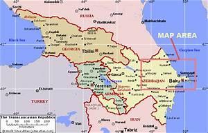 Azerbaijan Train Map