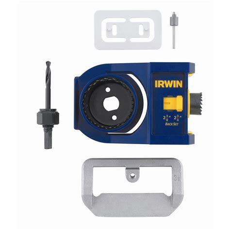 door lock installation kit irwin door lock installation kit bunnings warehouse
