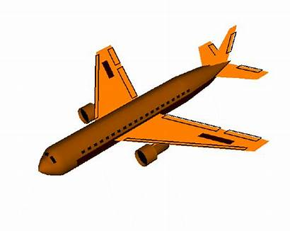 Airplane Clipart Animated Plane Spoilers Animation Cliparts