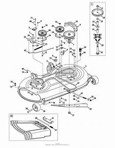 25 Troy Bilt Mustang 50 Deck Belt Diagram