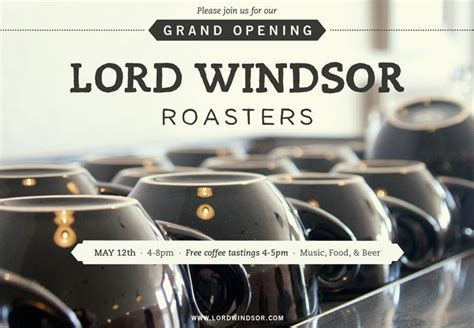 Get the low down on their best coffees! Lord Windsor Branding & Graphics   Branding, Company logo, Coffee tasting
