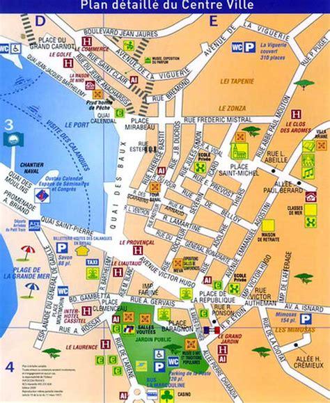 Carte Sud Cassis by Ville De Cassis 187 Vacances Arts Guides Voyages