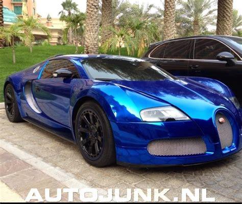 Blue Chrome Veyron, Mat Mercedes G Combo Foto's » Autojunk