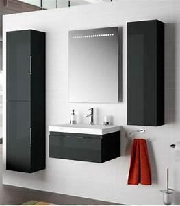 meuble salle de bain suspendu pas cher With carrelage adhesif salle de bain avec meuble tv design avec led