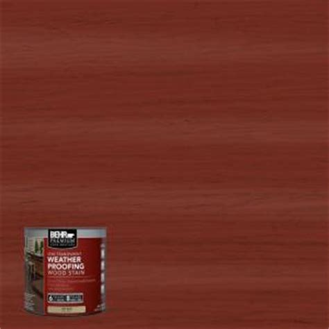 behr premium  oz st redwood semi transparent