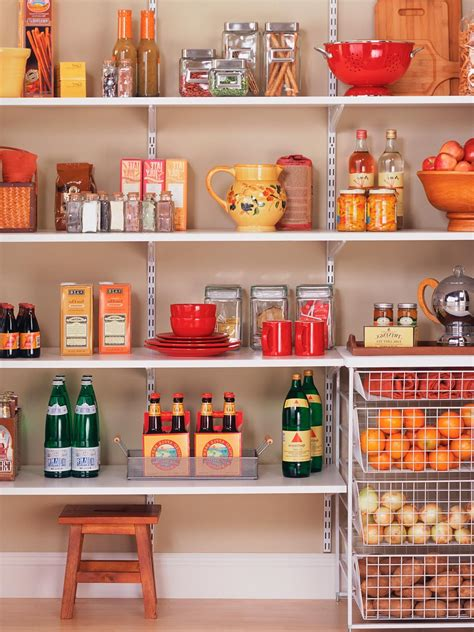 kitchen storage tips pantry ideas custom shelving systems walk in 3190