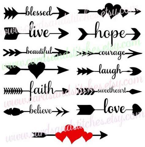 We upload amazing new content everyday! Arrow Words SVG Arrows SVG Decorative Arrows SVG Digital
