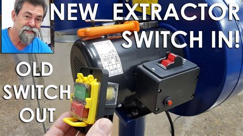 dust extractor switch conversion remote control dave